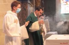 Première messe de D.Cyprien 4 juillet 2021